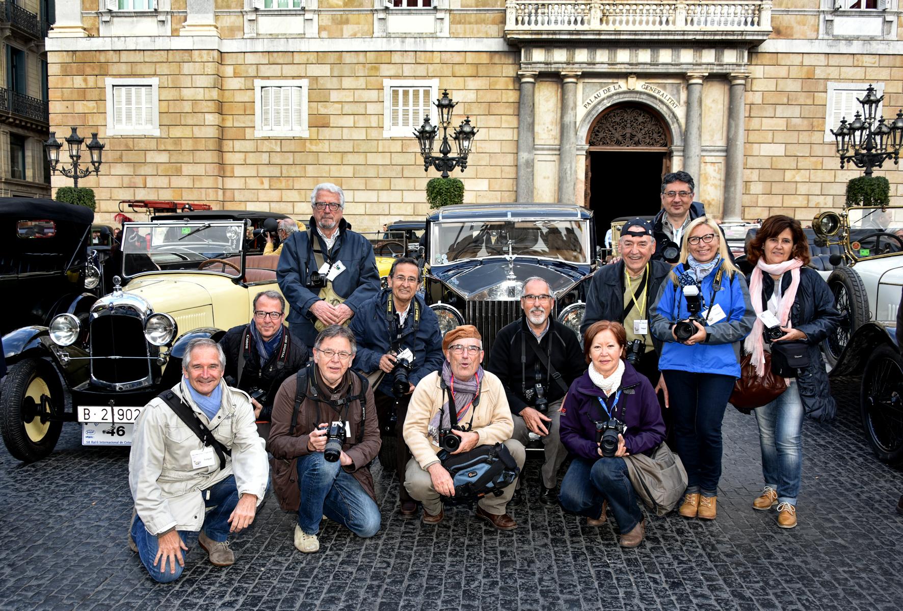 Grup SFGES Ral·li Cotxes 2016 Barna