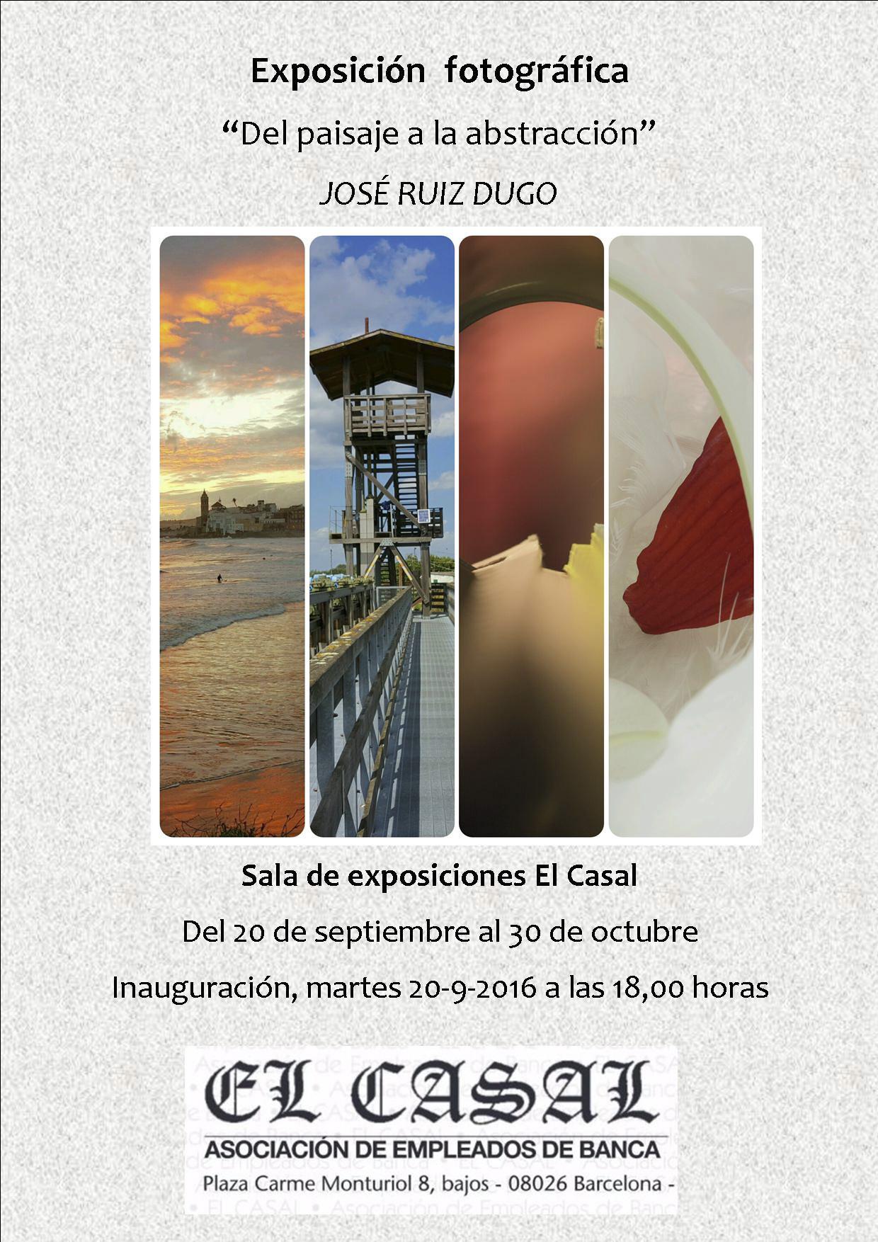 Expo El casal cartel